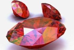 Rubini estratti in Birmania. Myanmar è il maggior estrattore di rubini al mondo.