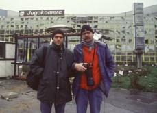 Gabriel Gruner (a sinistra), morto in Kosovo il 13 giugno 1999.