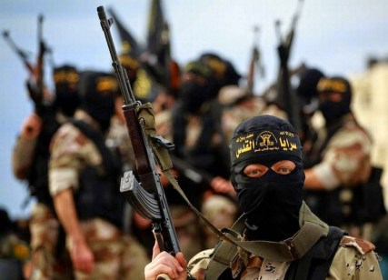 Guerriglieri jihadisti dell'Isil.