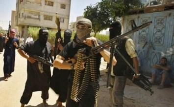 Miliziani del gruppo Laskar Jihad.