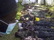 Massacro di cristiani perpetrato da Boko Haram.