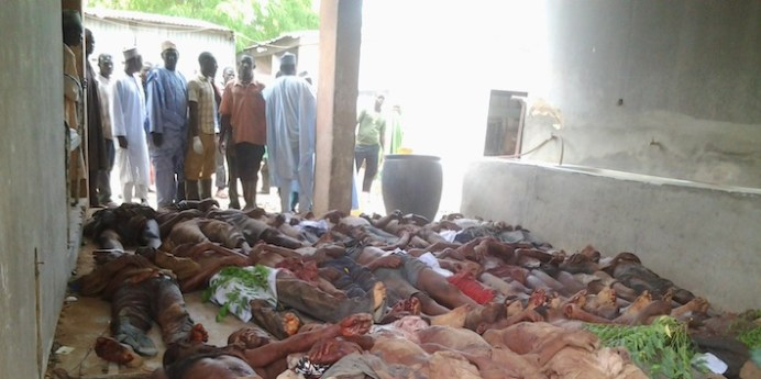 Militanti di Boko Haram massacrati dalla polizia all'interno di un carcere.