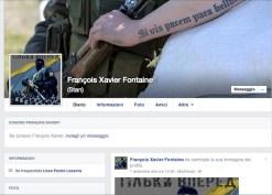 La pagina Facebook di Francesco Fontana.