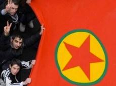 Manifestazione del Partito comunista curdo.