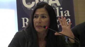 cristina quintavalla, candidata presidente per l'Altra Emilia Romagna