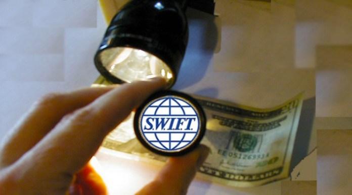 Il sistema Swift si basa sul dollaro.