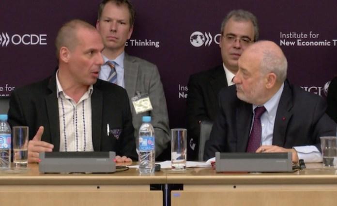 Yanis Varoufakis e Joseph Stiglitz
