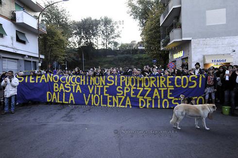 Mamifestazione per Stefano Cucchi