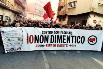 Dieci anni fa due pischelli fascisti uccisero Renato Biagetti