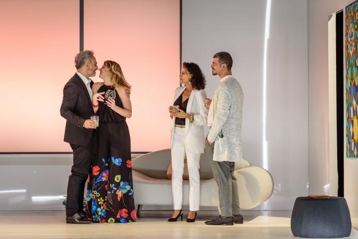 Disgraced-Hossein Taheri, Lisa Galantini, Saba Anglana, Francesco Villano FOTO di Donato Aquaro LI