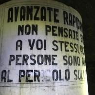 un tunnel antibomba della II guerra mondiale a Genova