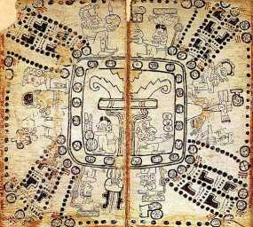 Folio from the Madrid codex