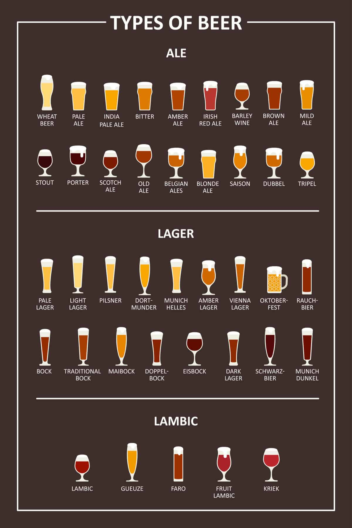 42 Different Types of Beer  How Well Do You Know Your