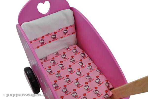 Sweet dreams Hello Kitty dekentje  Poppenwagennl