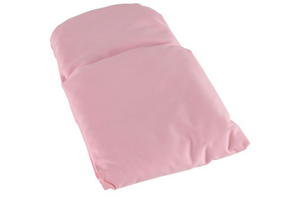 Sweet dreams Dekentje licht roze  effen  Poppenwagennl