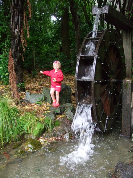 Queen's Garden Waterwheel