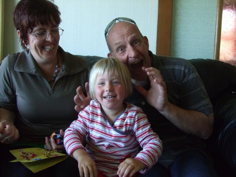 Carol, Poppy & Arthur