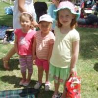 Poppy with Georgie & Briea