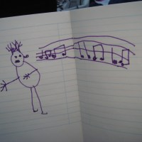 Poppy's drawing of Opera In The Park