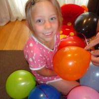 Breakfast balloons