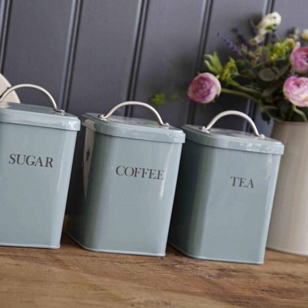 Garden trading sugar canister shutter