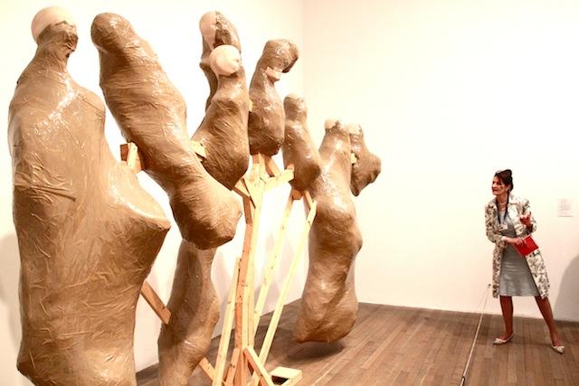 Thomas Hirschhorn--Candelabra with Heads