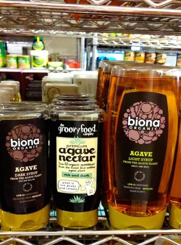 Agave Syrup at Portobello Wholefoods
