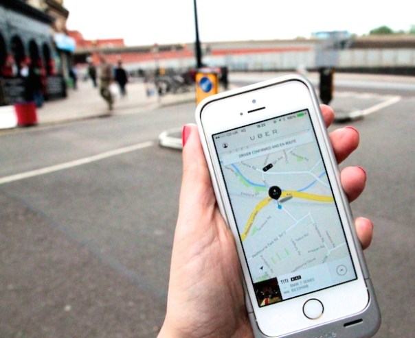Uber Taxi - your car is on its way