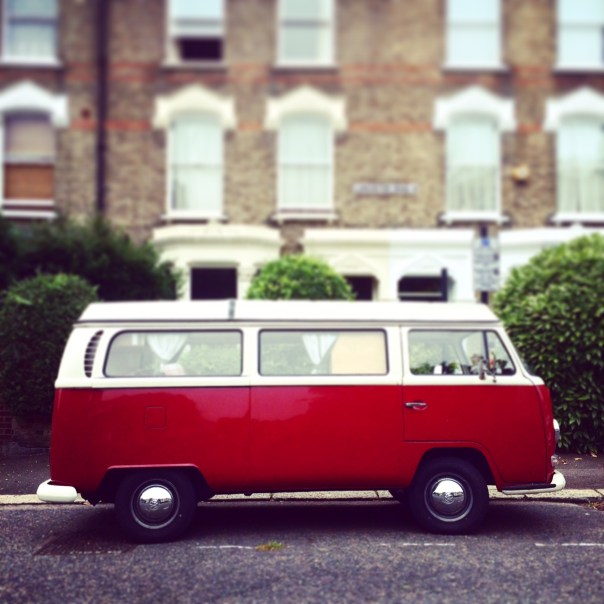 Poppy Loves: VW Campervan spied in the backstreets of Notting Hill