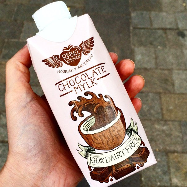 Poppy Loves: Chocolate Mylk by Rebel Kitchen
