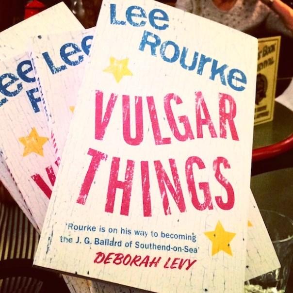 Lee Rourke: Vulgar Things - my new book for Poppy Loves Book Club
