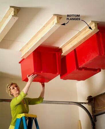 Got a problem with boxes in the garage? Ta da!