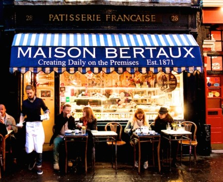 Maison Bertaux, Soho, London