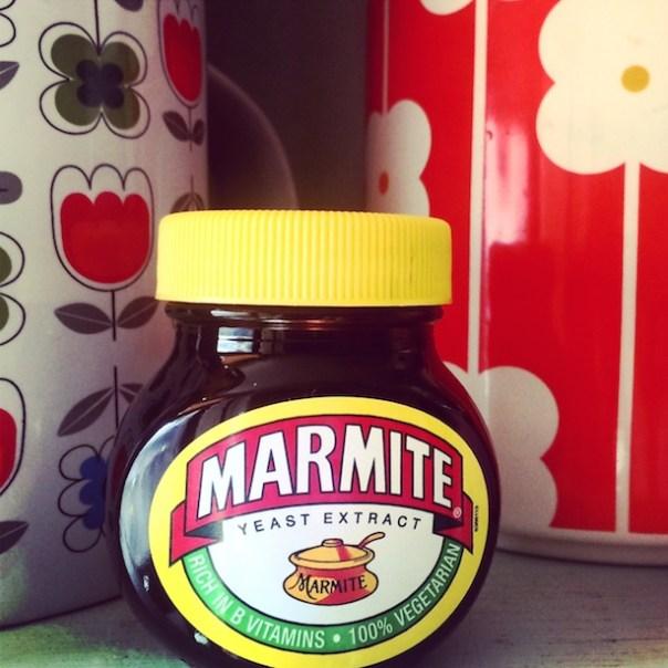 Marmite on toast