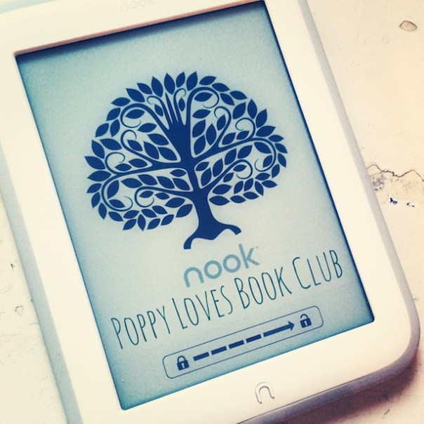 Win a NOOK with Poppy Loves Book Club!