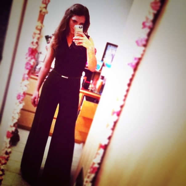Black Wallis Jumpsuit