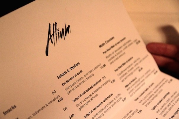 Allium Brasserie in Bath