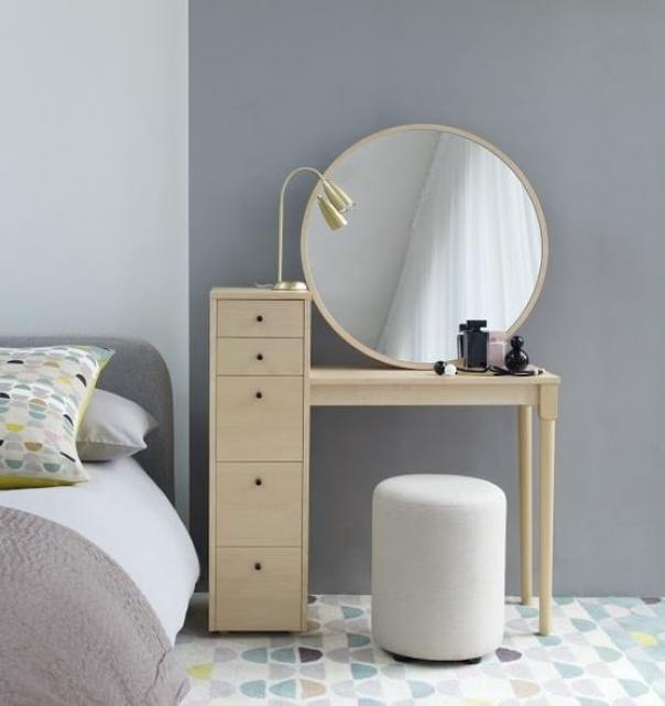 Emil Birch Dressing Table - Habitat