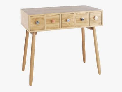 Fleur Oak Dressing Table - Habitat