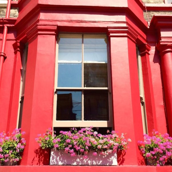 Red house in Notting Hill