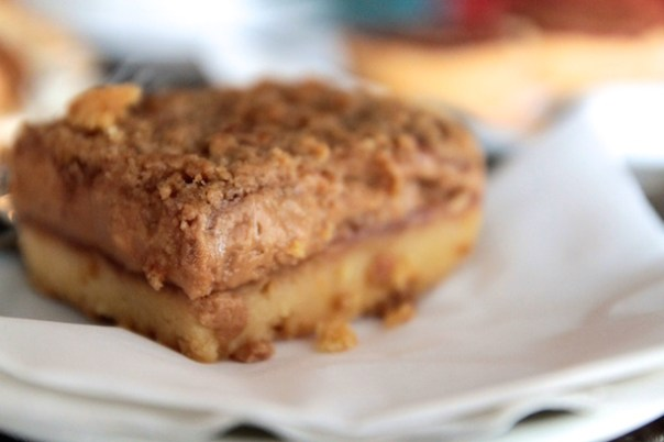 ...and we also tried their Peanut Butter & Jelly flapjack...