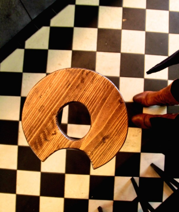 Doughnut stools