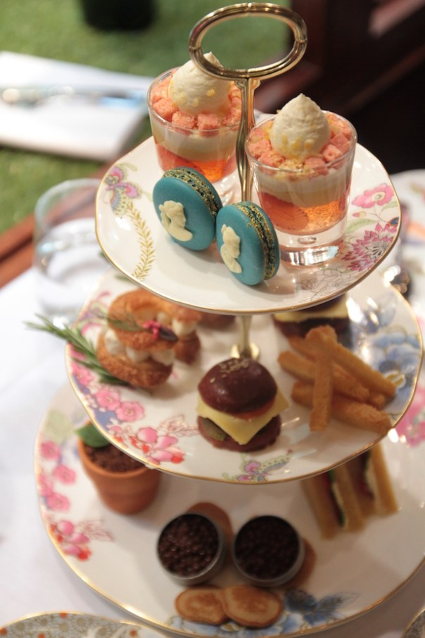 Lauren Perrier afternoon tea with Cuisson