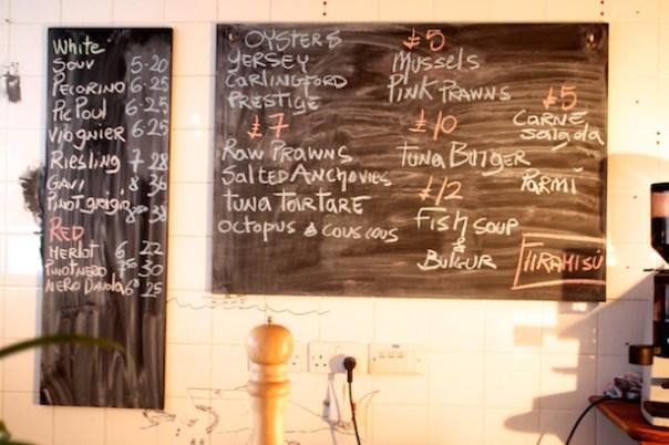 Pescheria Mattiucci menu
