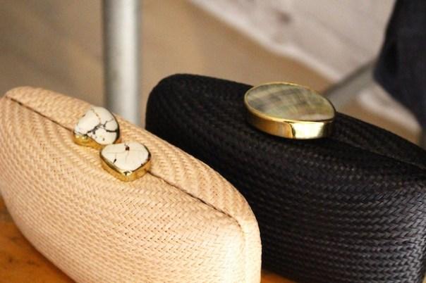 Eileen Fisher clutch bag