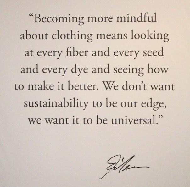 Eileen Fisher Manifesto