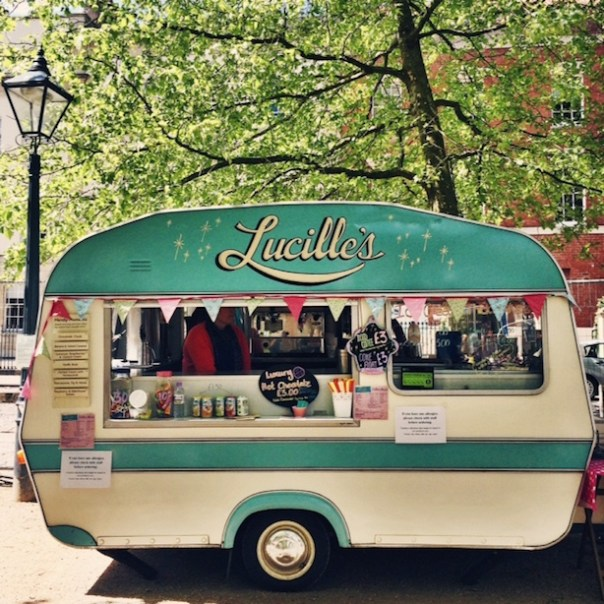 Lucille's Ice Cream Van