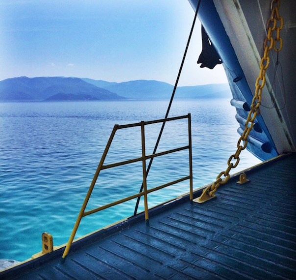 Ferry in Kefalonia