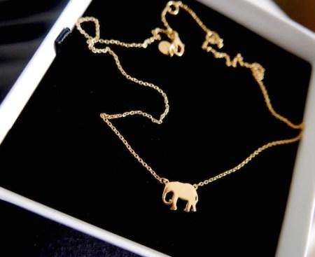 Daisy London Elephant necklace