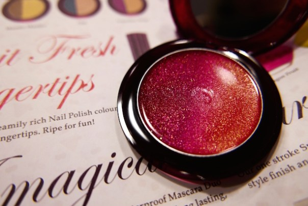 Sanguinello (003) lip gloss - fresh and vibrant tones of red and yellow - £15
